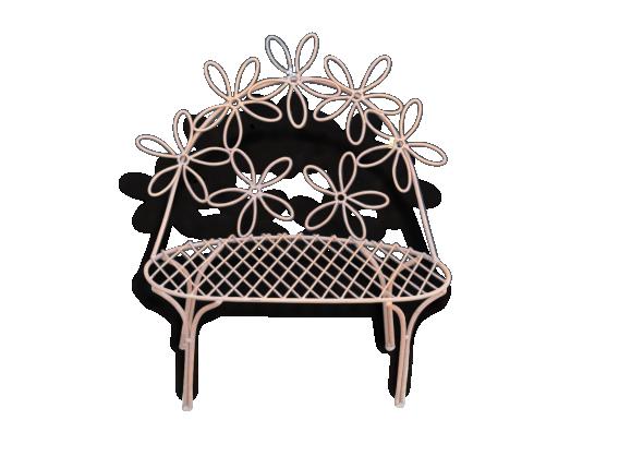 fauteuil fer forg. Black Bedroom Furniture Sets. Home Design Ideas