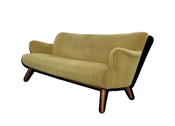 canap ann es 50 60 d 39 epoque organique le fait main. Black Bedroom Furniture Sets. Home Design Ideas