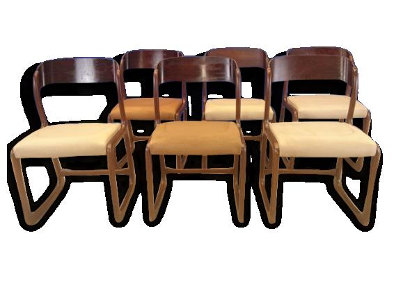 chaise vintage scandinave. Black Bedroom Furniture Sets. Home Design Ideas