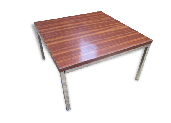 Table basse chrom - Table basse 70 s ...