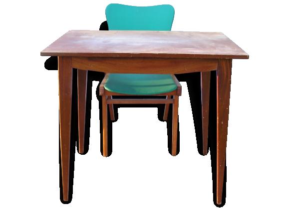 fauteuil vintage pieds. Black Bedroom Furniture Sets. Home Design Ideas
