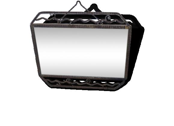 Miroir fer forg for Miroir en fer forge noir