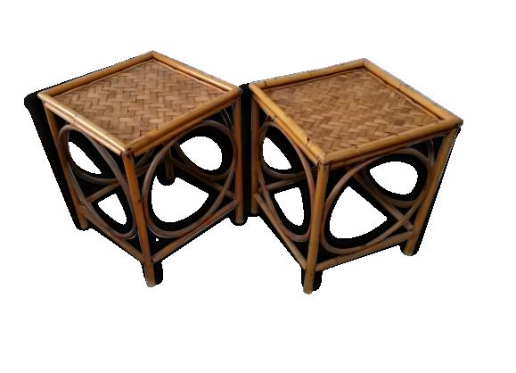 meuble petite rotin. Black Bedroom Furniture Sets. Home Design Ideas