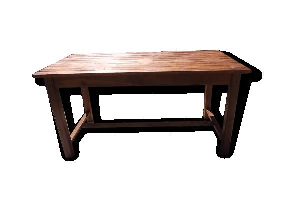 table pin achat vente de table pas cher. Black Bedroom Furniture Sets. Home Design Ideas