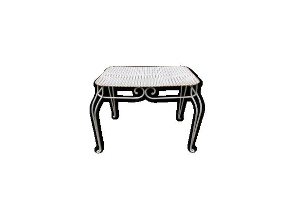 Table fer forger - Petite table en fer forge ...