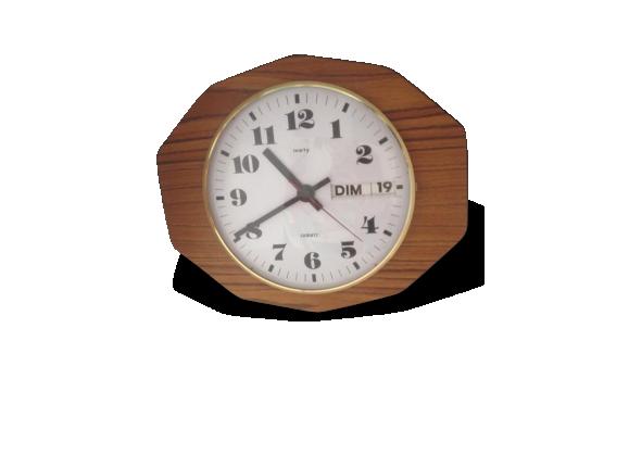 horloge formica achat vente de horloge pas cher. Black Bedroom Furniture Sets. Home Design Ideas