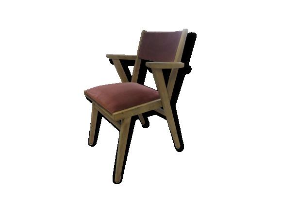 chaise vintage bois. Black Bedroom Furniture Sets. Home Design Ideas