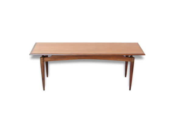 Table scandinave vintage for Table rectangulaire scandinave
