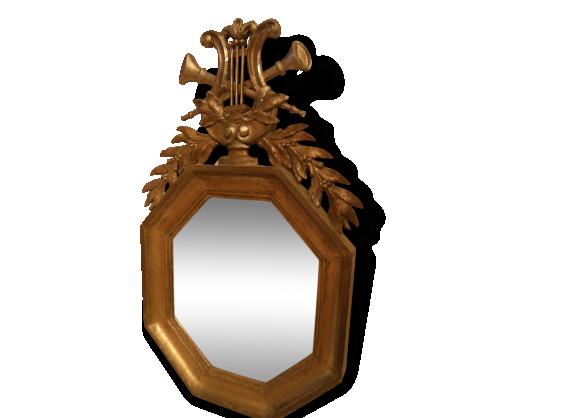 Cadre dor achat vente de cadre pas cher for Miroir cadre dore