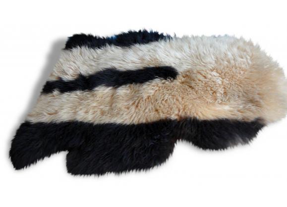 Tapis peau mouton - Descente de lit mouton ...
