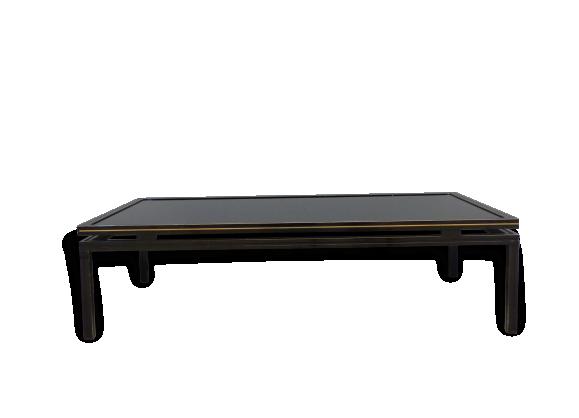Table basse noir laqu - Table basse laquee noire ...
