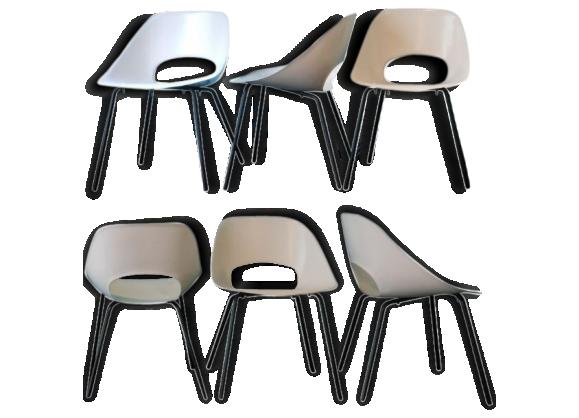 Chaise tulipe maison du monde simple le buzz maison du for Ensemble table et chaise transparent