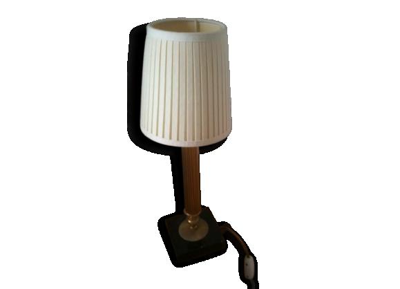 lampe marbr achat vente de lampe pas cher. Black Bedroom Furniture Sets. Home Design Ideas