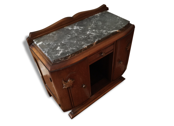 Chevet bois achat vente de chevet pas cher - Table de chevet marbre ...