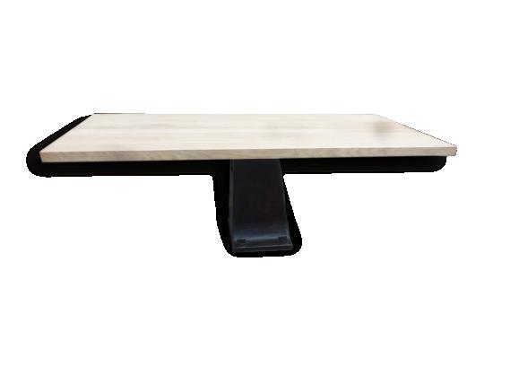 table ch ne pied. Black Bedroom Furniture Sets. Home Design Ideas