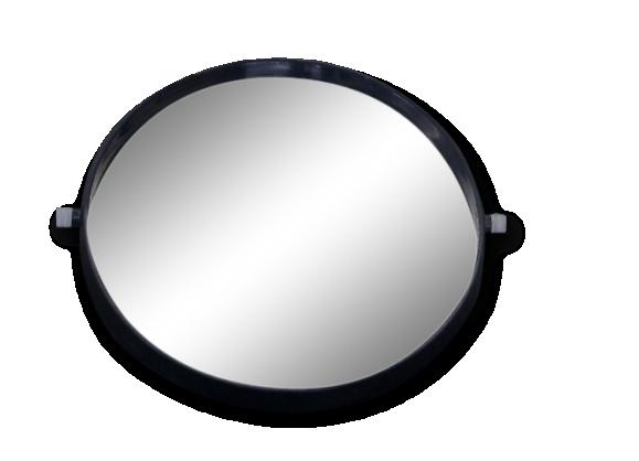 Miroir grand vintage for Grand miroir rond