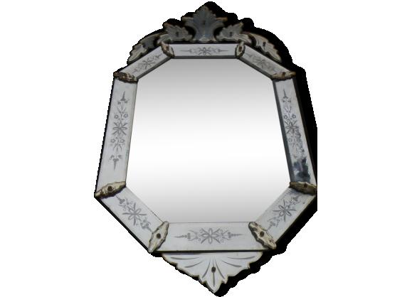Miroir octogonal achat vente de miroir pas cher for Argenture miroir