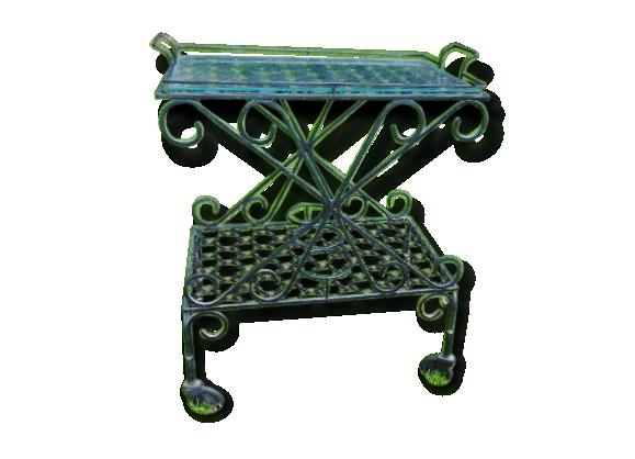 table fer forger. Black Bedroom Furniture Sets. Home Design Ideas
