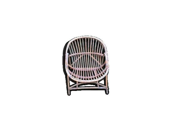 fauteuil osier achat vente de fauteuil pas cher. Black Bedroom Furniture Sets. Home Design Ideas