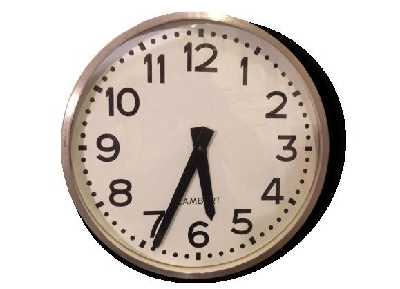 Horloge 50 achat vente de horloge pas cher for Pendule murale industrielle