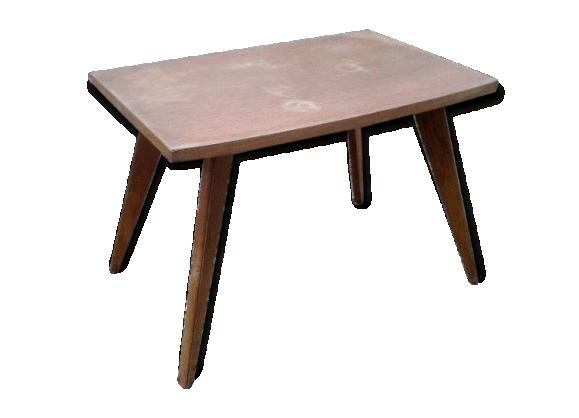 Table basse bois pied - Table basse pieds compas ...