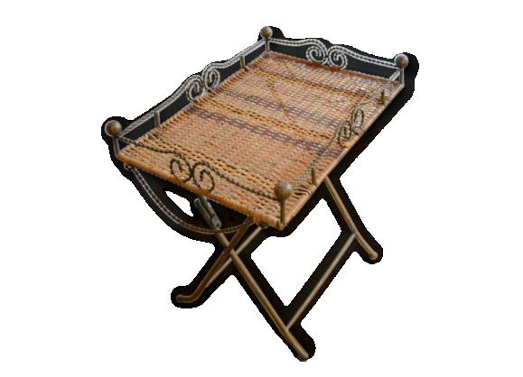 Table petite vintage - Petite table d appoint pliante ...