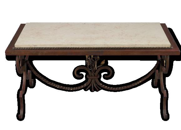Table Basse Fer Forg