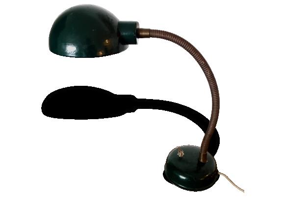 Lampe bureau vert for Lampe de chevet anglais