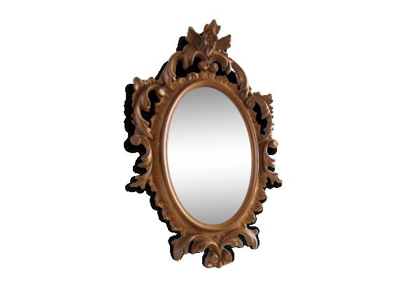 Miroir ancien achat vente de miroir pas cher for Miroir dore pas cher