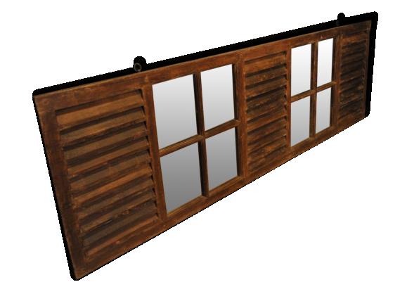 paravent bois achat vente de paravent pas cher. Black Bedroom Furniture Sets. Home Design Ideas