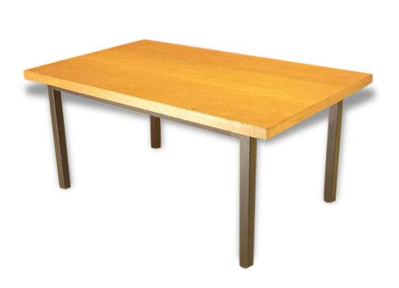 Table ch ne clair - Table basse en chene clair ...