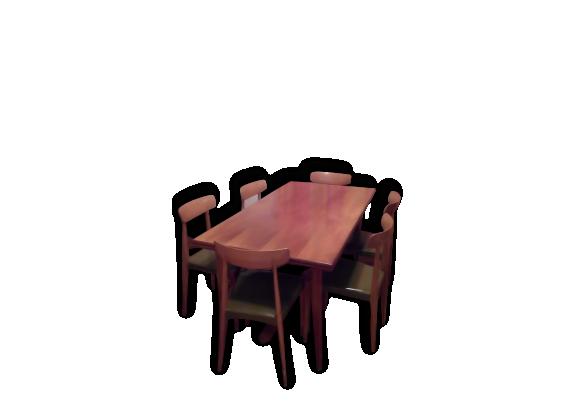 Chaises ensemble table - Ensemble table et 6 chaises ...