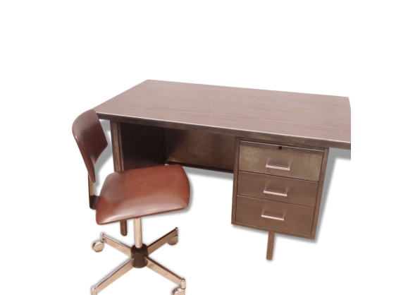 meuble bureau industriel. Black Bedroom Furniture Sets. Home Design Ideas