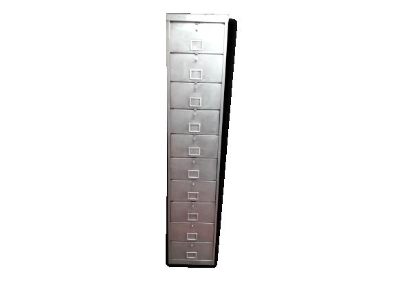 Meuble classeurs achat vente de meuble pas cher for Meuble colonne industriel
