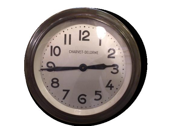 Horloge 40 cm for Pendule murale industrielle
