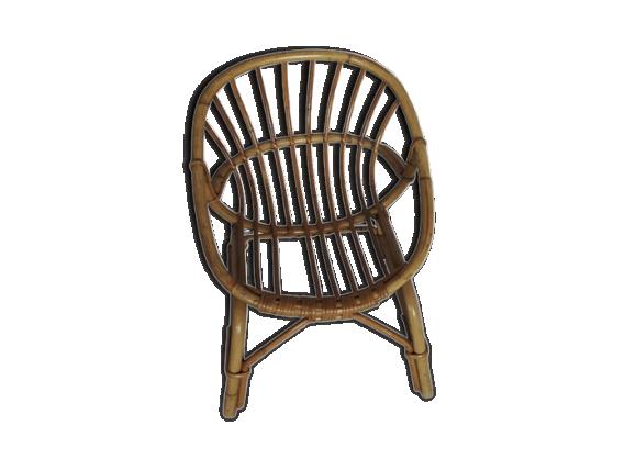 fauteuil en rotin enfant le fait main. Black Bedroom Furniture Sets. Home Design Ideas