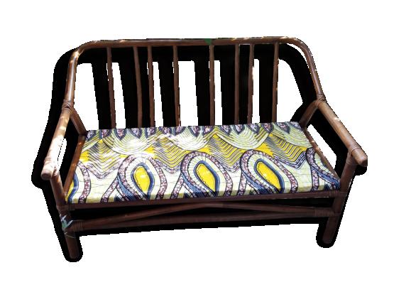 canap tissu vintage. Black Bedroom Furniture Sets. Home Design Ideas
