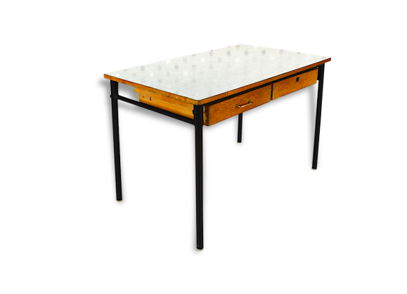 Table en formica carree a rallonge le bon coin fenrez for Secretaire meuble habitat