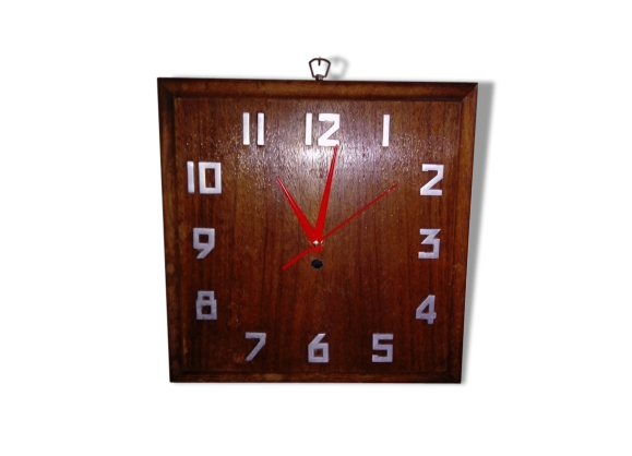 Horloge 50 achat vente de horloge pas cher for Deco murale annee 50