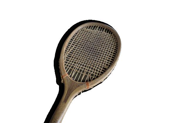 raquette tennis en bois williams co driva paris le fait main. Black Bedroom Furniture Sets. Home Design Ideas
