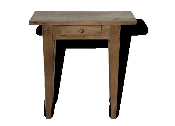 Bois brut achat vente de bois pas cher - Proteger une table en bois brut ...
