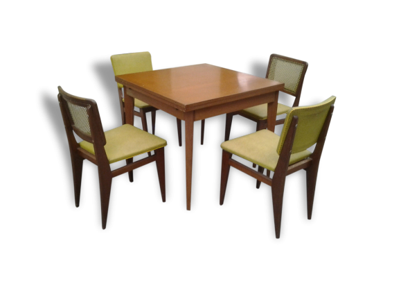 chaises ensemble table. Black Bedroom Furniture Sets. Home Design Ideas