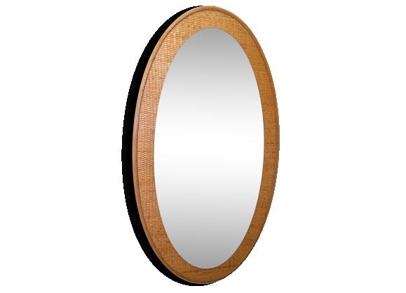 Miroir cadre achat vente de miroir pas cher for Miroir osier pas cher