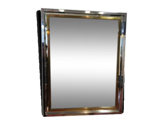 Miroir acier achat vente de miroir pas cher for Miroir acier