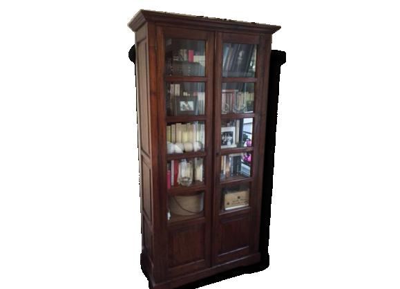 biblioth que massif achat vente de biblioth que pas cher. Black Bedroom Furniture Sets. Home Design Ideas