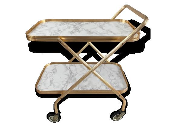 desserte roulante achat vente de desserte pas cher. Black Bedroom Furniture Sets. Home Design Ideas