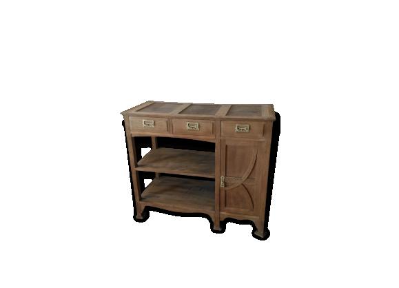 buffet bois vintage. Black Bedroom Furniture Sets. Home Design Ideas