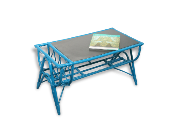 table basse hexa bleu canard bleu achat vente table table basse bleu canard. Black Bedroom Furniture Sets. Home Design Ideas