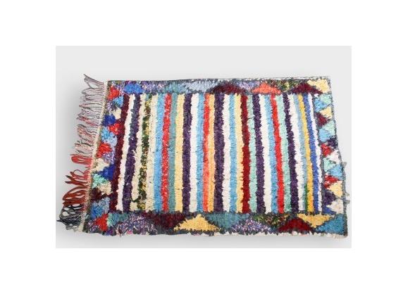 Tapis rayures achat vente de tapis pas cher - Tapis rayures multicolores ...