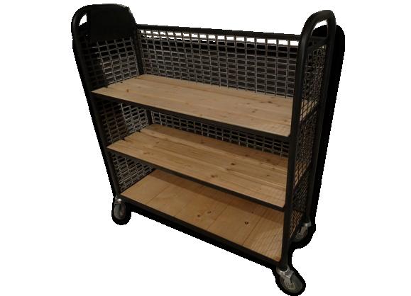 etag re industrielle achat vente de etag re pas cher. Black Bedroom Furniture Sets. Home Design Ideas